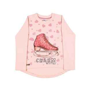 Girls Long Sleeve T-Shirt Graphic Tee Kids Clothing Pulla Bulla Sizes 2-10 Years