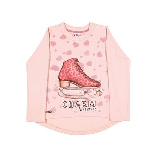 Girls Long Sleeve T-Shirt Graphic Tee Kids Clothing Pulla Bulla Sizes 2-10 Years (5 options available)
