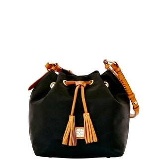 Dooney & Bourke Windham Small Kade Drawstring (Introduced by Dooney & Bourke at $198 in Jan 2016) - Black