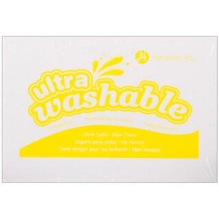 Hampton Art Ultra Washable Stamp Pad-Yellow - YELLOW