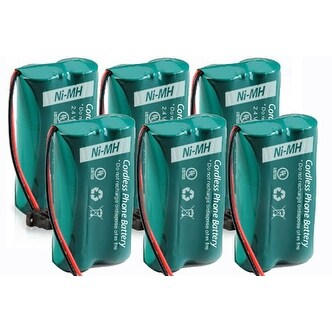 Replacement Battery 6010 for AT&T CL80109 / CL84209 / SL82308 Phone Models (6 Pk)