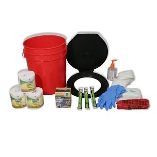 Ready America Lockdown Toilet Bucket Kit - 4-10 Persons 71641