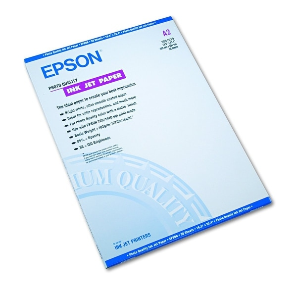 Epson America - S041079 - Photo Paper A2 Size 30Sh