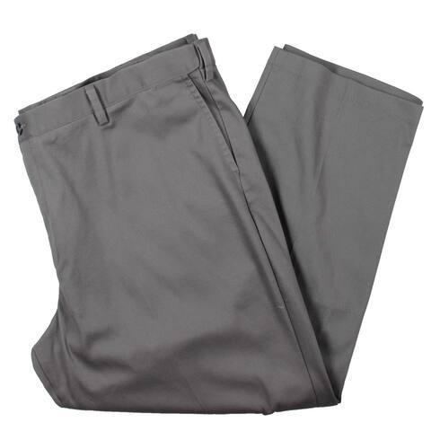 Dockers Mens Big & Tall Khaki Pants Classic Fit Wrinkle s - Burma Grey - 48/30
