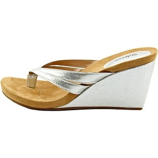 Style & Co. Womens Cassiee Split Toe Casual Platform Sandals