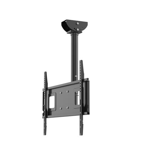 "Loctek CM2 Adjustable Wall Ceiling Tilting TV Mount Fits most 32-65"" LCD LED Plasma Monitor Flat Panel Screen Display"