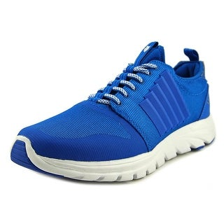 K-Swiss Axcel Trainer Men  Round Toe Canvas Blue Cross Training