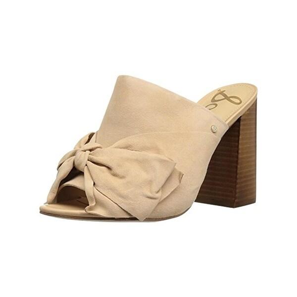 7ae7305a0734 Shop Sam Edelman Womens Yumi Heels Mules Open Toe - Free Shipping ...