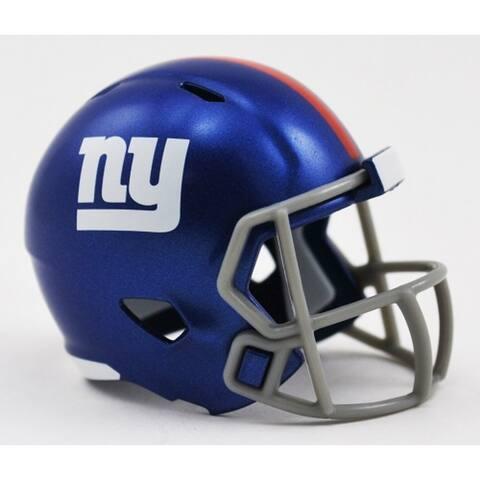 New York Giants Helmet Riddell Pocket Pro Speed Style