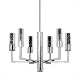 "Bromi Design B2706 Talon 49.5"" Tall 7 Light Round Pendant"