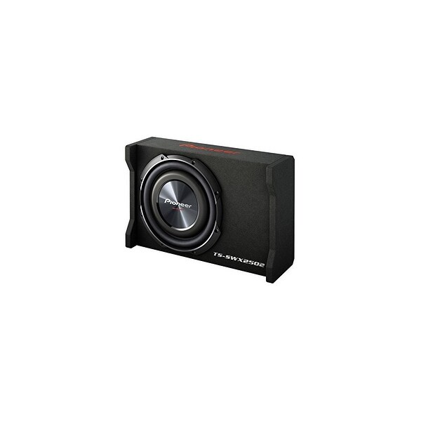 PIONEER PIOTSSWX2502B 10- Inch Shallow-Mount Pre-Loaded Enclosure Sub Woofer