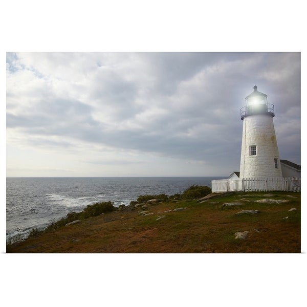 """Pemaquid Point Lighthouse"" Poster Print"
