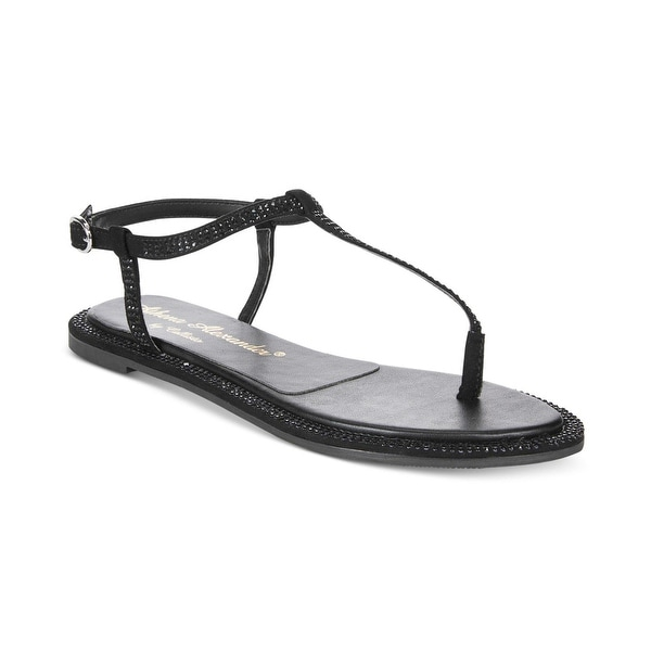 Athena Alexander Womens indya Open Toe Casual T-Strap Sandals