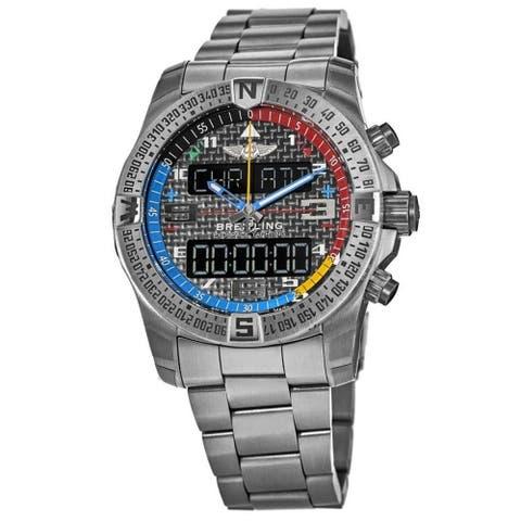 Breitling Men's EB551222-BG45-181E 'Exospace' Titanium Watch - Black