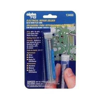 Alpha 13460 Electrical Repair Rosin Flux Core Solder, 0.75 Oz