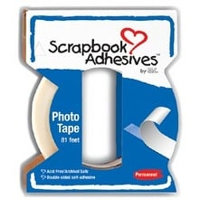 "Scrapbook Adhesives Crafty Power Tape W/Dispenser-.25""X81'"