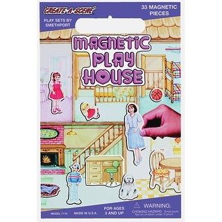 Playhouse - Magnetic Create-A-Scene Kit