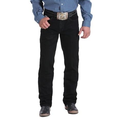 Cinch Western Jeans Mens Silver Label Straight Leg Black