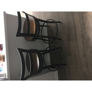 Thompson Counter Height Swivel Stools (Set of 2) by iNSPIRE Q Classic