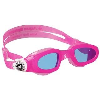 Aqua Sphere Kid's Moby Purple Lens Swim Goggles - Pink