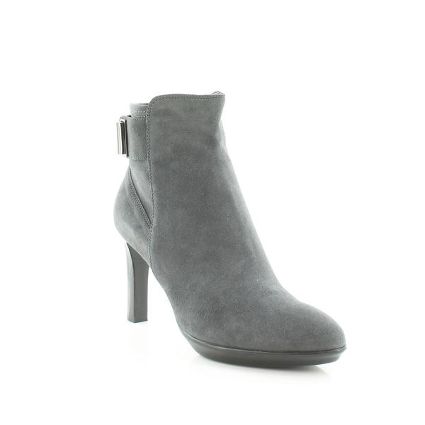 Aquatalia Rochelle Women's Boots Anthracite - 10