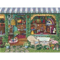 "Antiques Counted Cross Stitch Kit-14""X11"" 14 Count"
