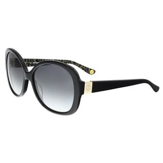 Juicy Couture - Juicy 583/S 807 Black Square Sunglasses - 57-17-135