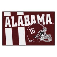 University of Alabama Custom Logo Starter Rug