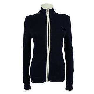 Ralph Lauren Women's Mock Neck Track Jacket