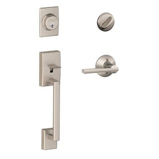 Schlage F60V-LAT-CEN Century Handle Set with Latitude Lever Interior