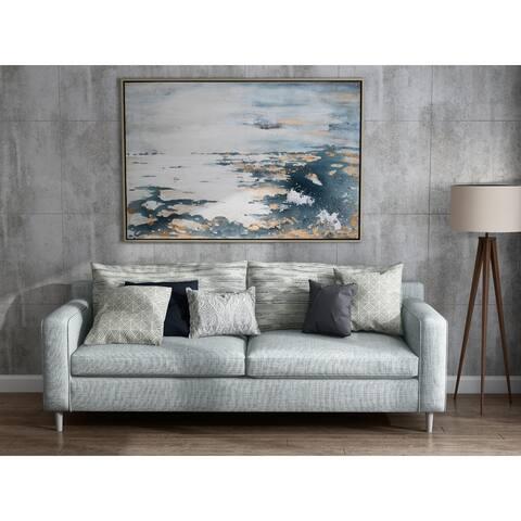 Deep Sea Hand Painted Framed Canvas