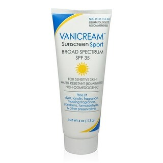 Vanicream Sunscreen - SPF 35 - 4 Oz