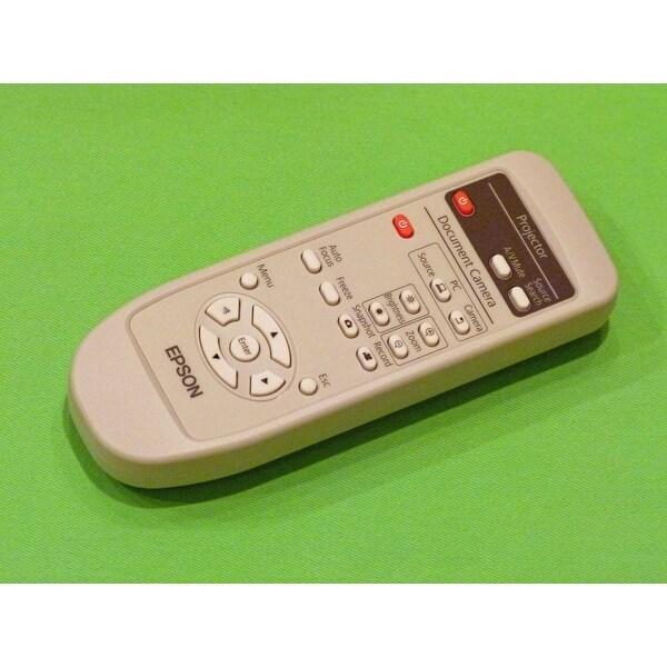 Epson Remote Control Originally Shipped With: ELPDC11 Document Camera