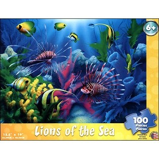 Lions of the Sea 100 Piece Puzzle