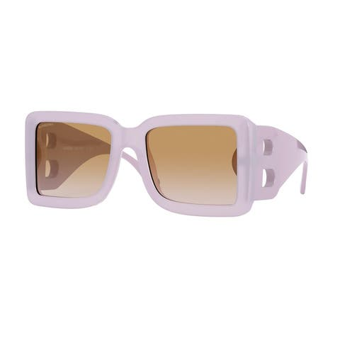 Burberry BE4312 384913 55 Lilac Woman Square Sunglasses