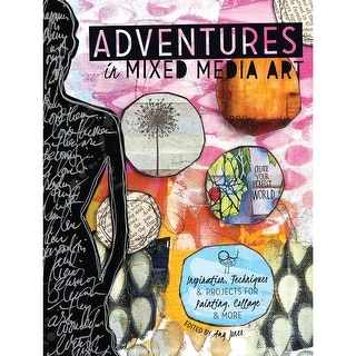 North Light Books-Adventures In Mixed Media Art