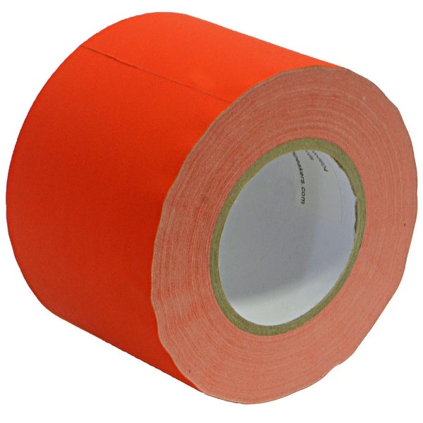 Seismic Audio Gaffer's Tape - Red 4 inch Roll 60 Yards per Roll Gaffers Tape
