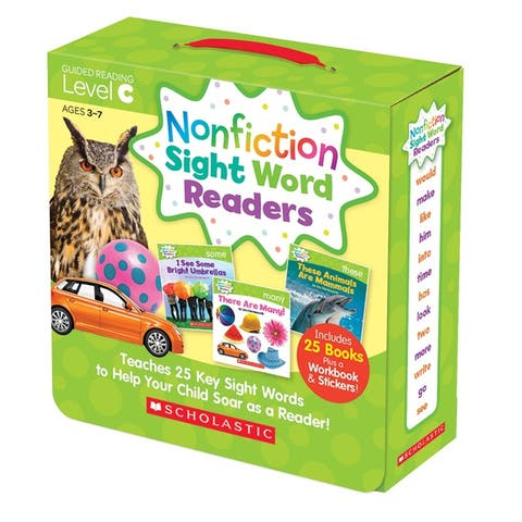 Nonfiction Sight Word Readers Lvl C
