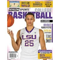 201516 Athlon Sports College Basketball Preview Magazine LSU Tigers Cover