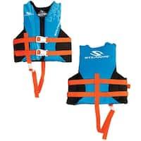 Stearns child hydroprene life jacket 30-50 lbs blue 2000019830
