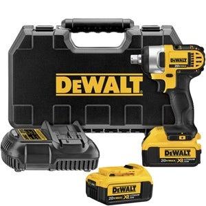 Dewalt DCF880HM2 20V Max Mini .5 Inch Hog Ring Anvil Li-Ion Impact Wrench Kit