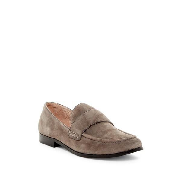 Pour La Victoire Womens Lareau Leather Closed Toe Loafers