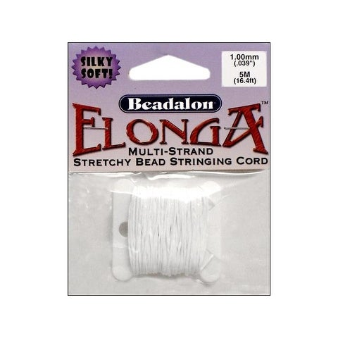 Beadalon Elonga Stretchy Bead Cord 1mm 5M