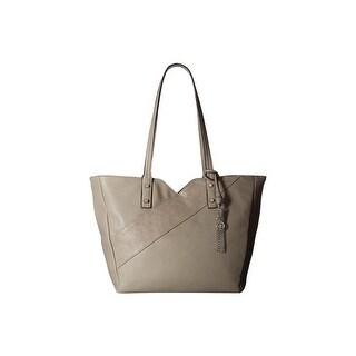 Jessica Simpson Womens Carra Tote Handbag Faux Leather Shopper - Medium
