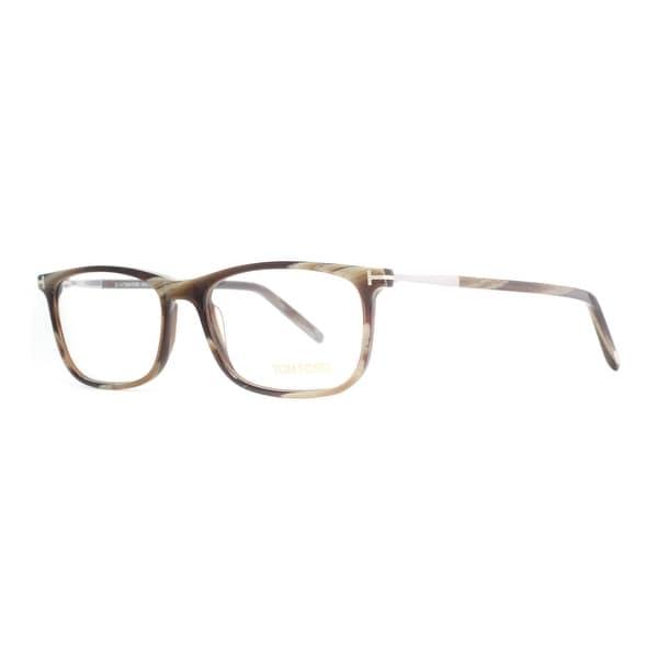 2ed1e29ab94 Tom Ford TF 5398 061 55mm Brown Horn Silver Eyeglasses - brown horn - 55mm