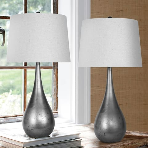 Carbon Loft Braganza 29.25-inch Table Lamp with Empire Shade
