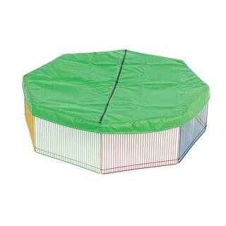 Prevue Pet Green Pet Playpen Mat/Cover - 40096