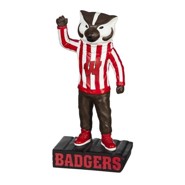"Wisconsin Badgers Bucky 12"" Mascot Statue"