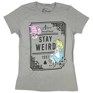 Disney Juniors Alice Stay Weird Graphic Tee