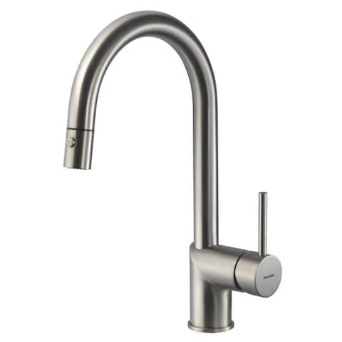 Houzer VITPD-668 Vitale Pull-Down Kitchen Faucet with CeraDox L